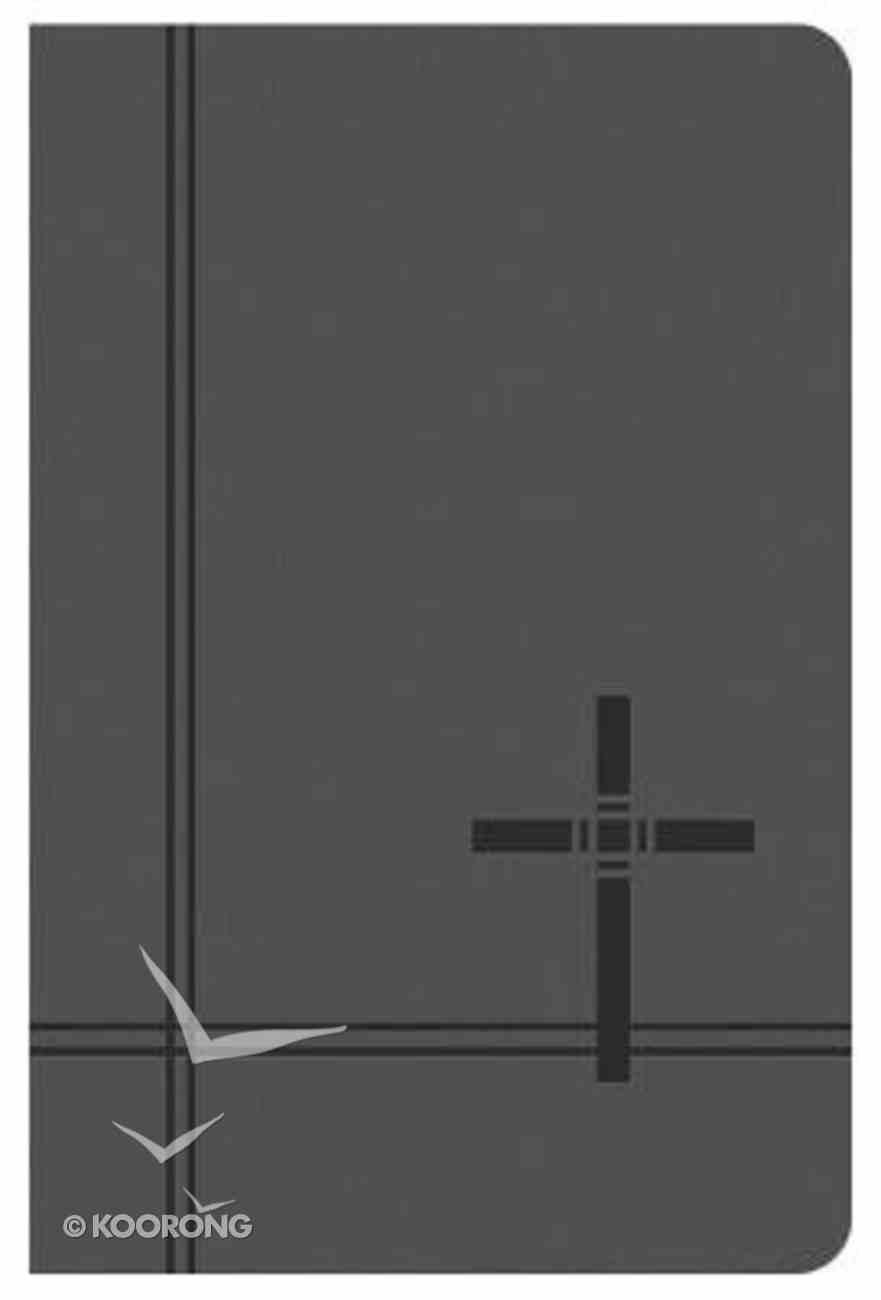 KJV Deluxe Gift & Award Bible Gray Imitation Leather