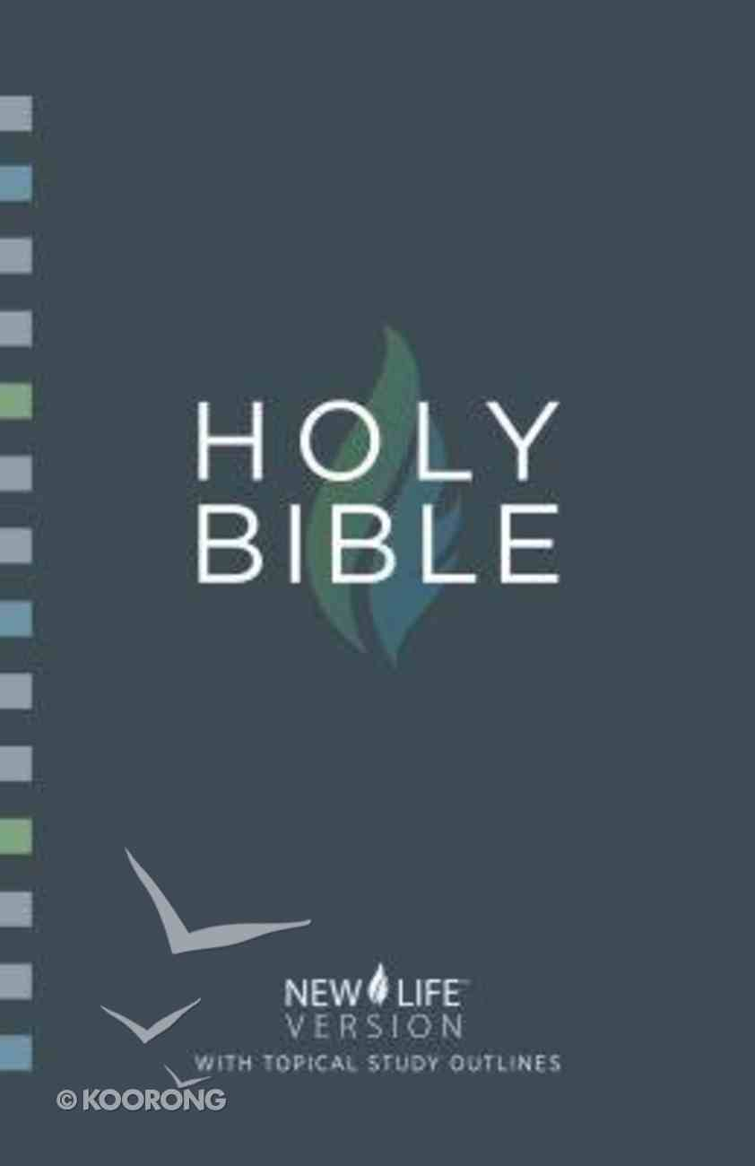 Nlv Holy Bible With Topical Study Outlines Paperback