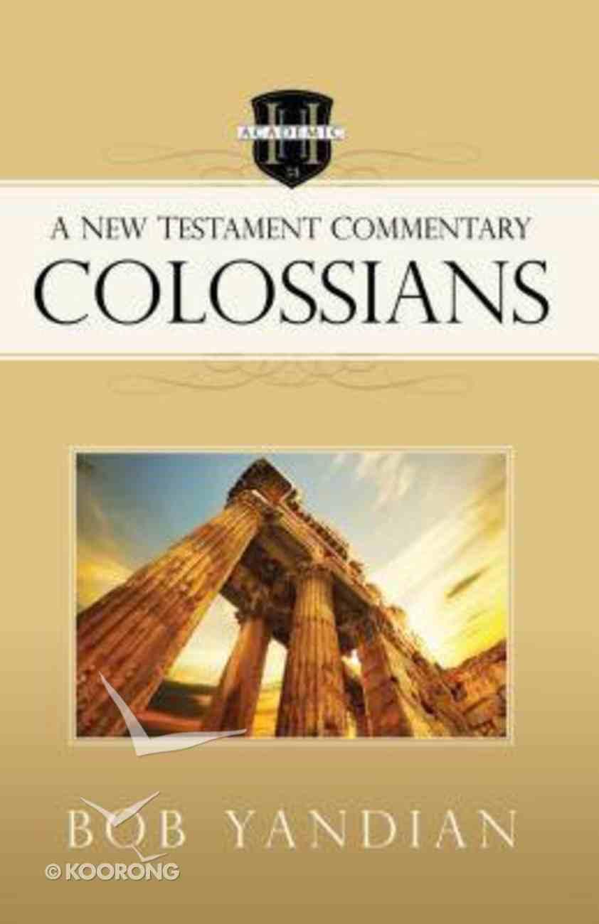 Colossians Paperback