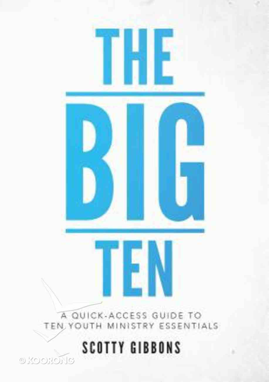 The Big Ten Paperback