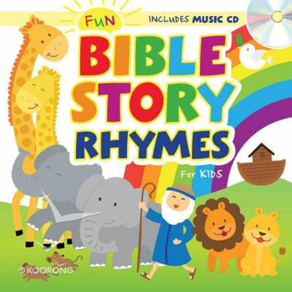 Fun Bible Story Rhymes For Kids Padded Board Book