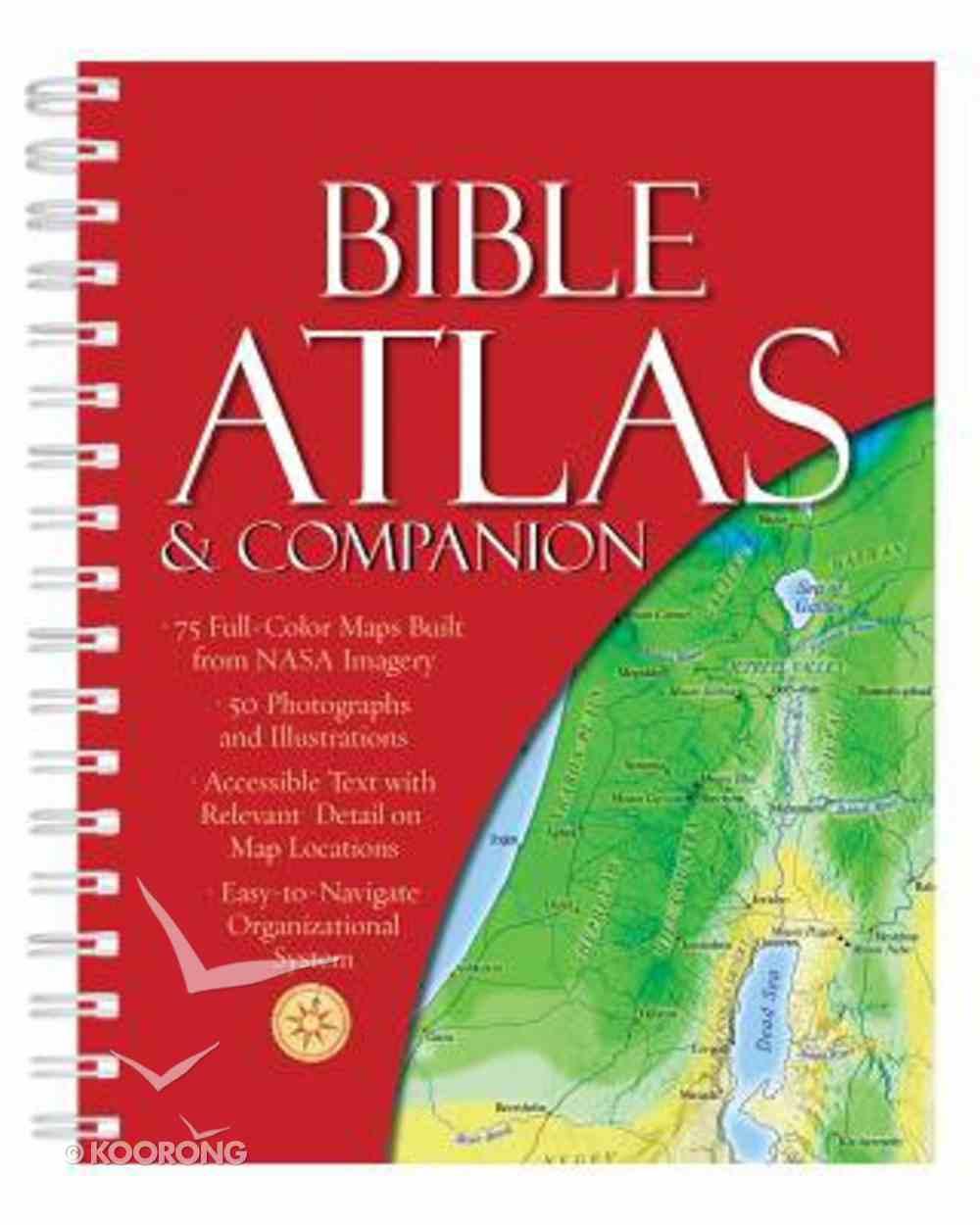 Bible Atlas & Companion Spiral