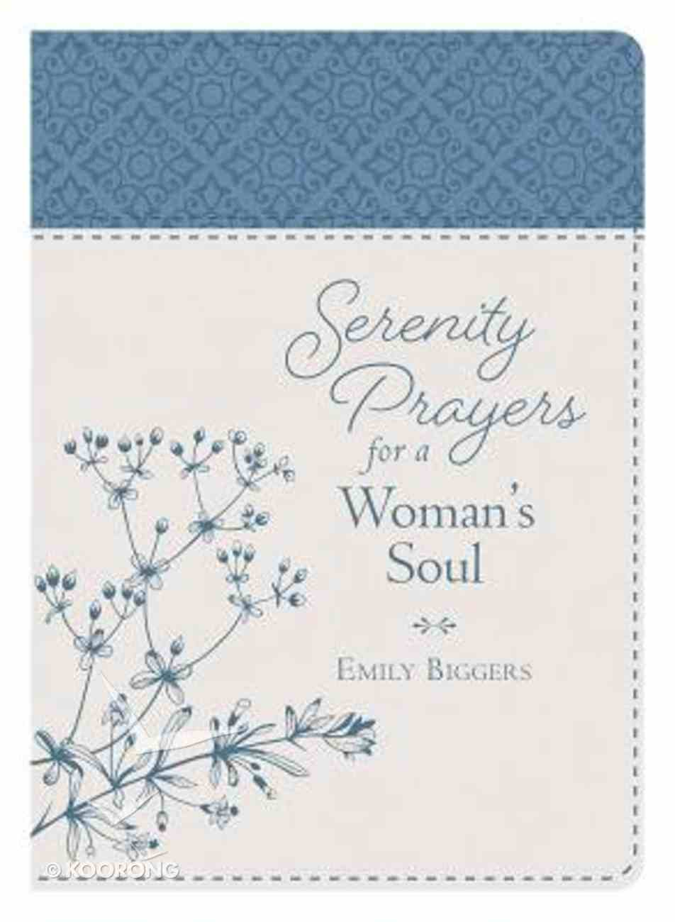 Serenity Prayers For a Woman's Soul Imitation Leather