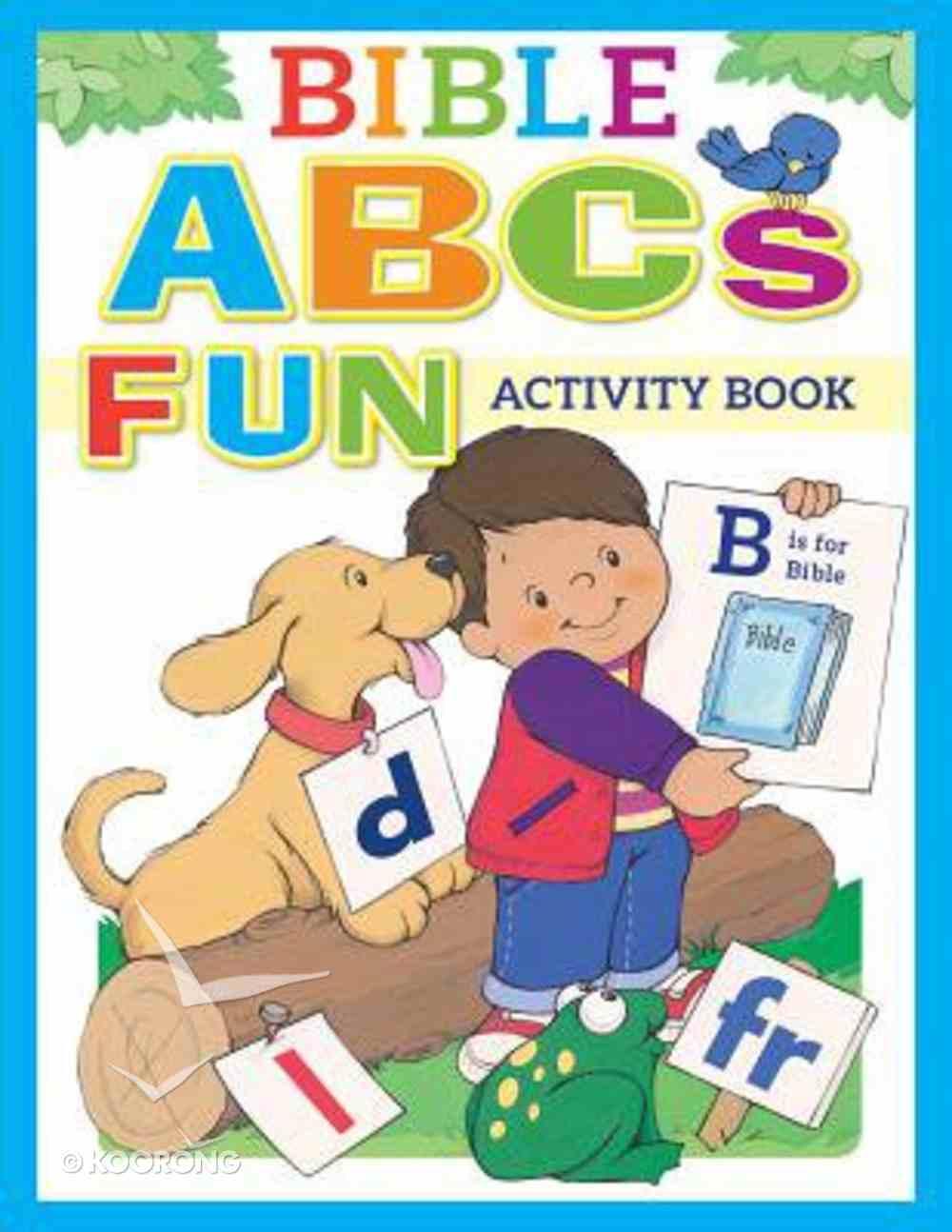 Bible ABCS Fun Activity Book Paperback