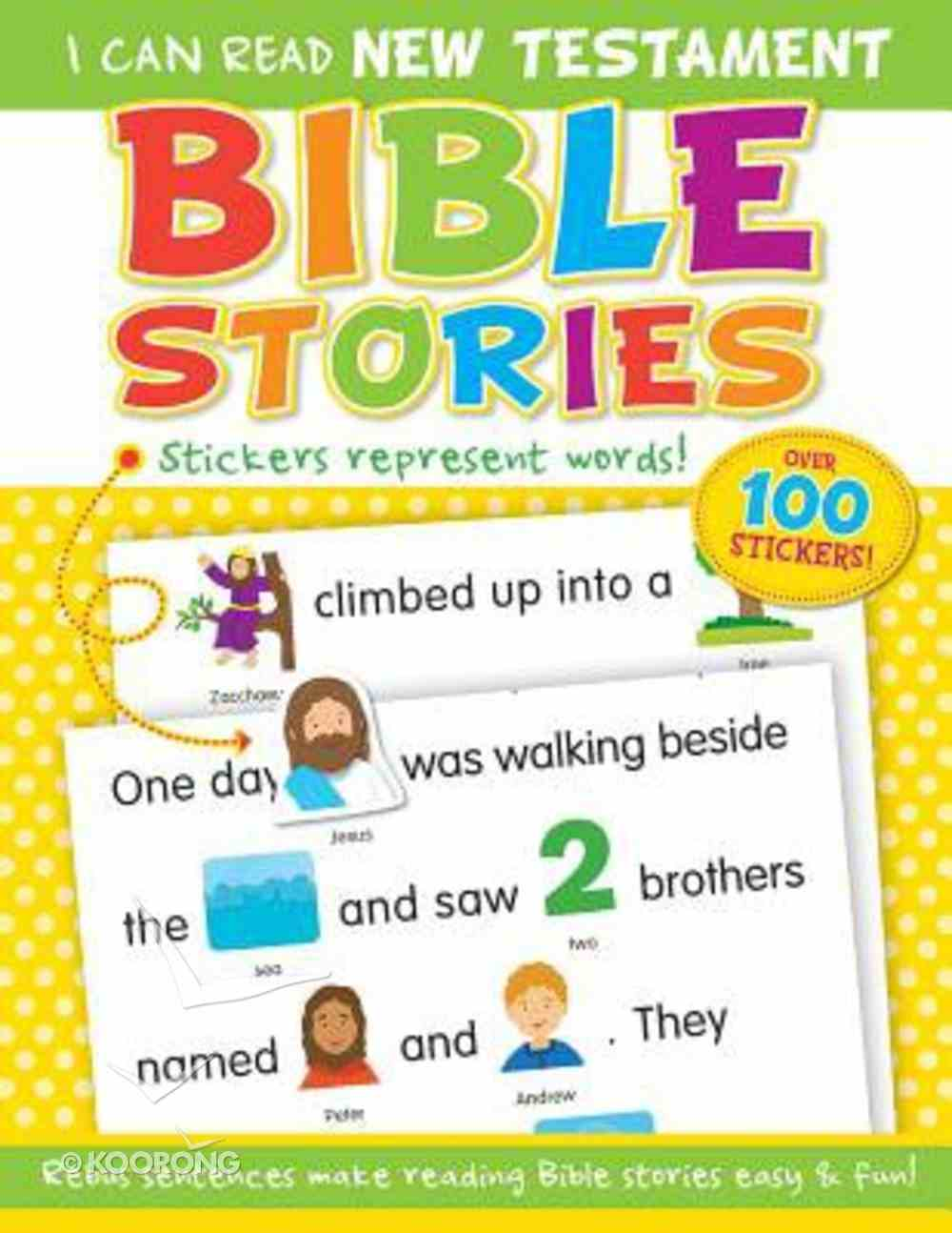 New Testament Bible Stories (With Over 100 Stickers) (I Can Read Series) Paperback