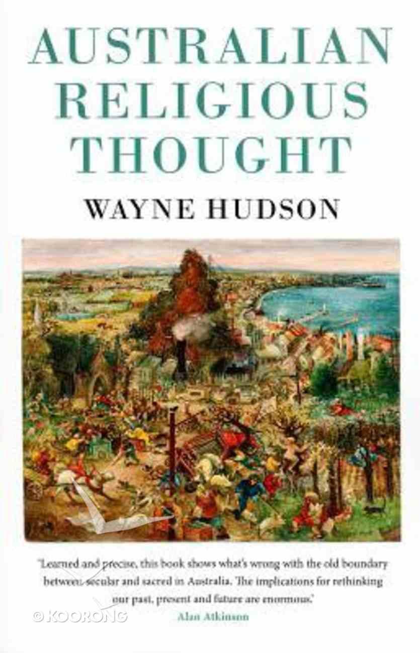 Australian Religious Thought Paperback