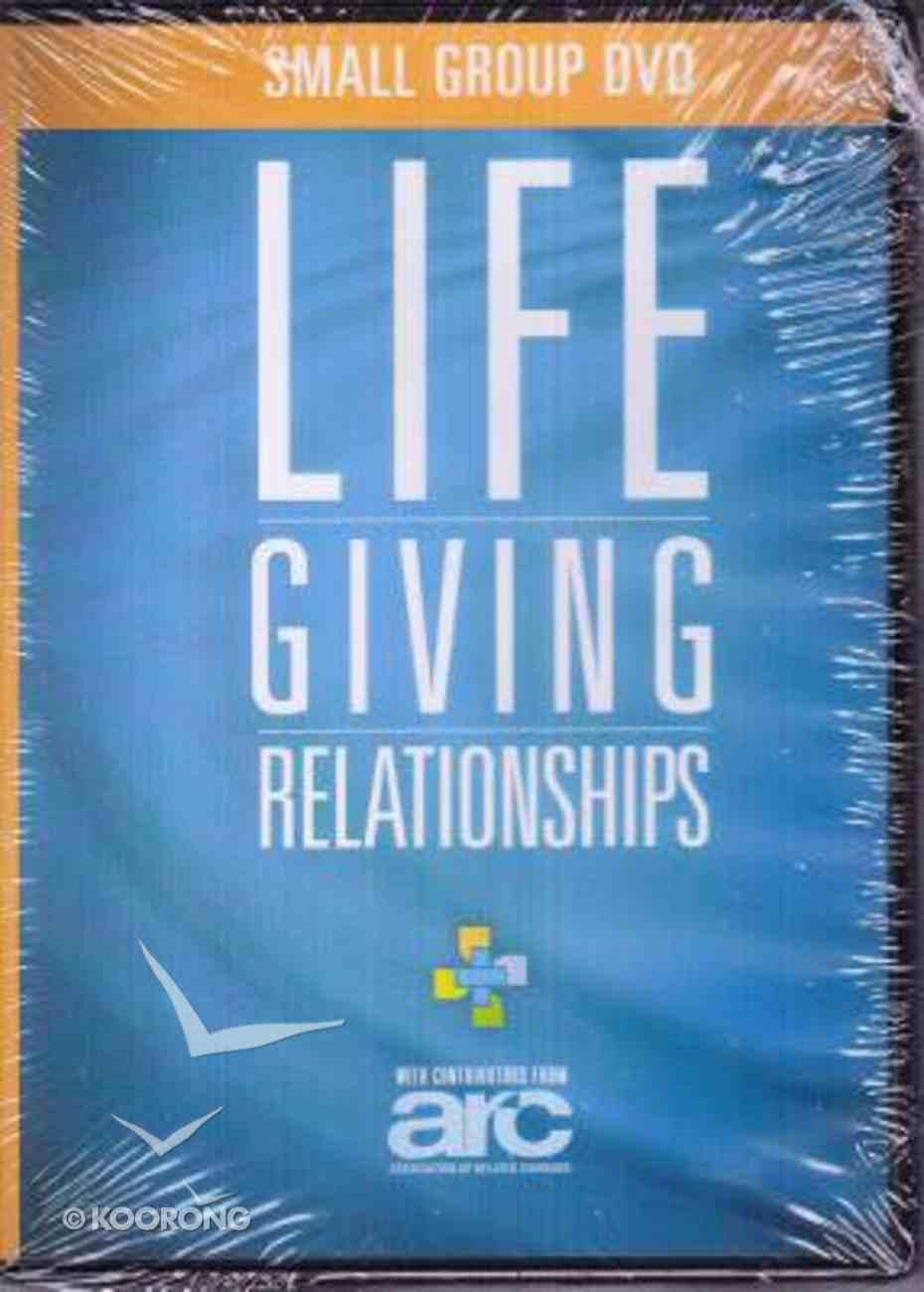 Lifegiving Relationships (Dvd) DVD