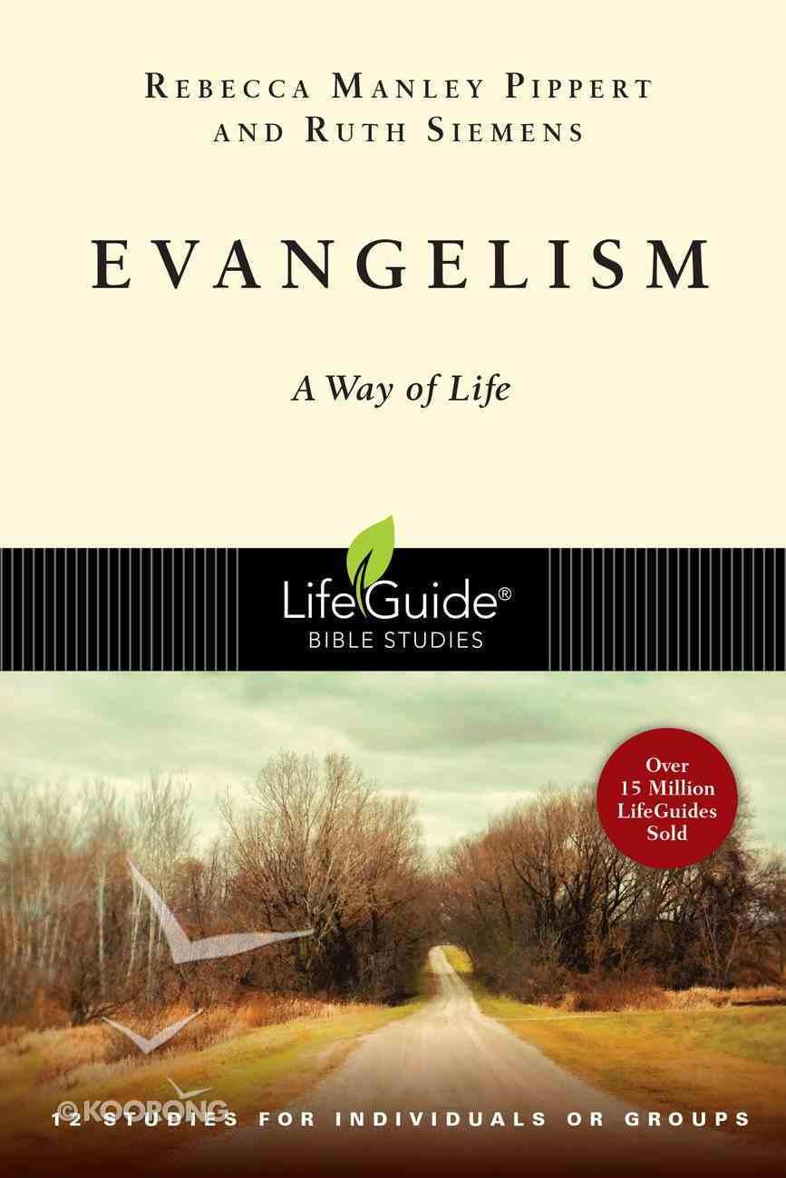 Evangelism (Lifeguide Bible Study Series) Paperback
