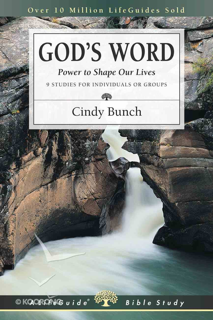 God's Word (Lifeguide Bible Study Series) Paperback