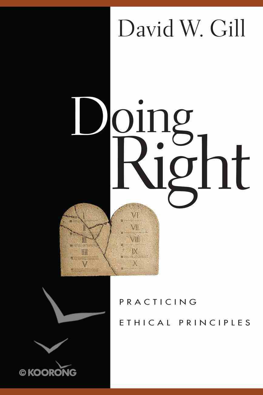 Doing Right Paperback