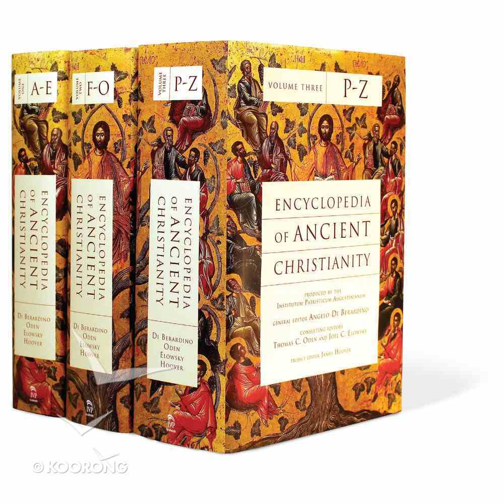 Encyclopedia of Ancient Christianity (3 Volume Set) Hardback
