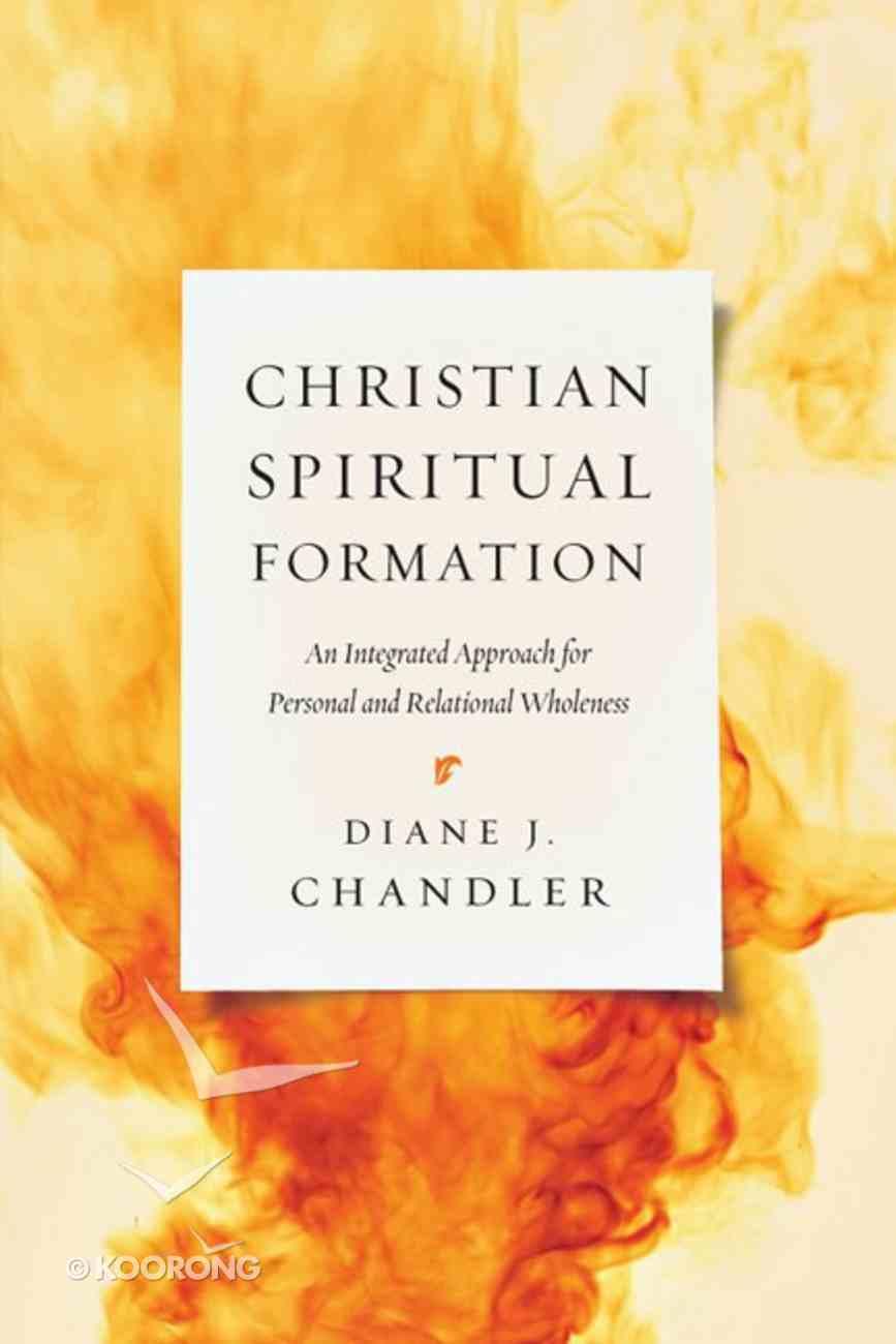 Christian Spiritual Formation Paperback