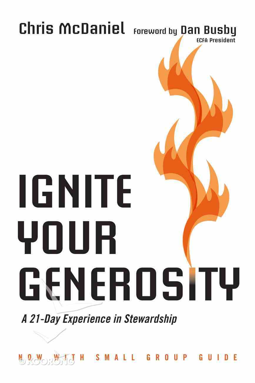 Ignite Your Generosity Paperback
