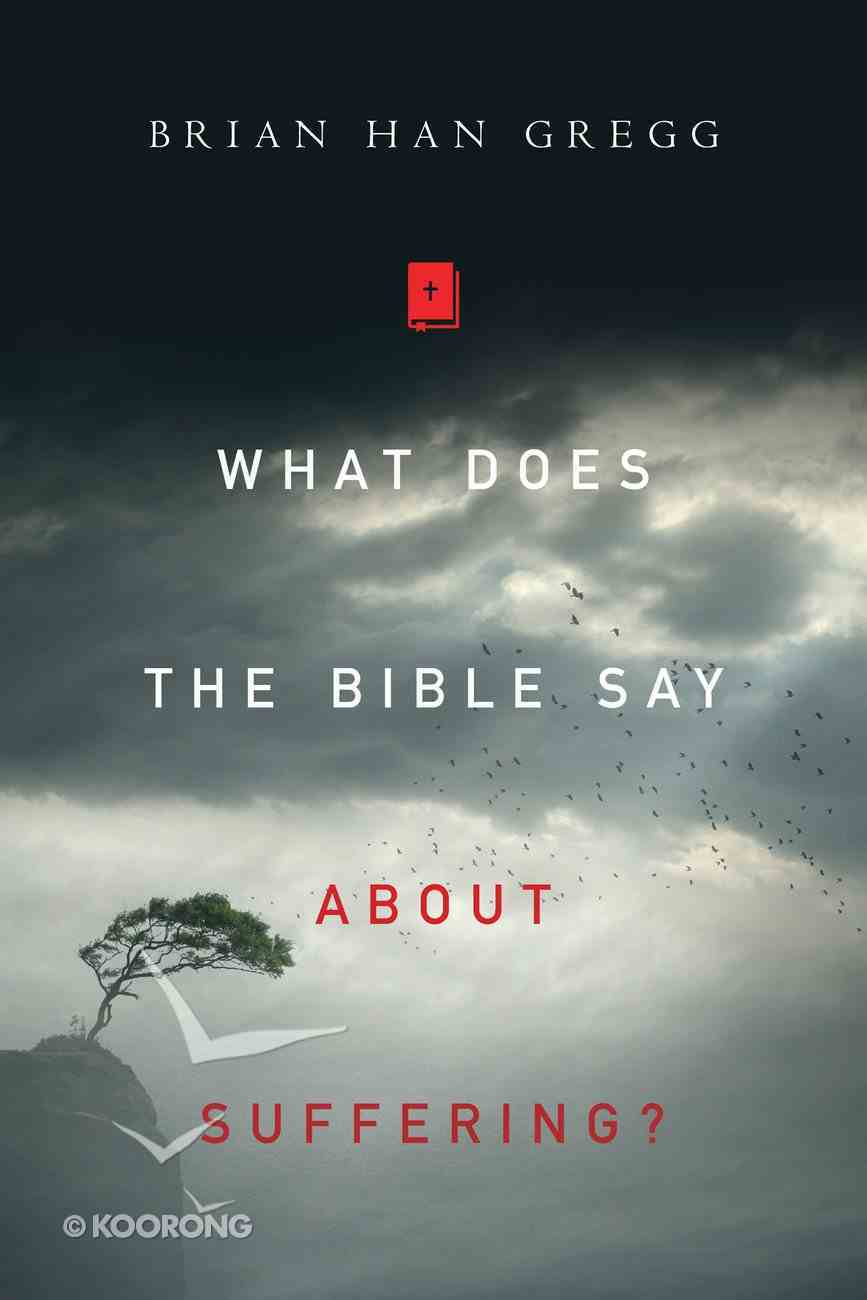 What Does the Bible Say About Suffering? Paperback