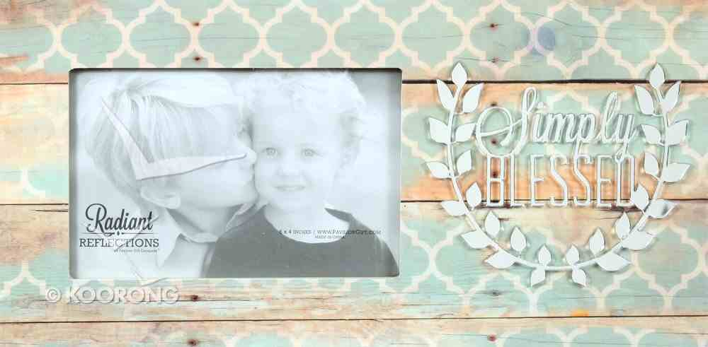 Photo Frame: Simply Blessed Homeware