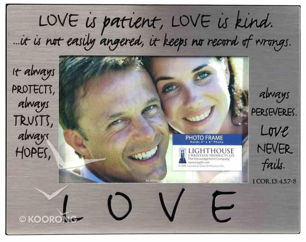 Pewter Photo Frame: Love Homeware