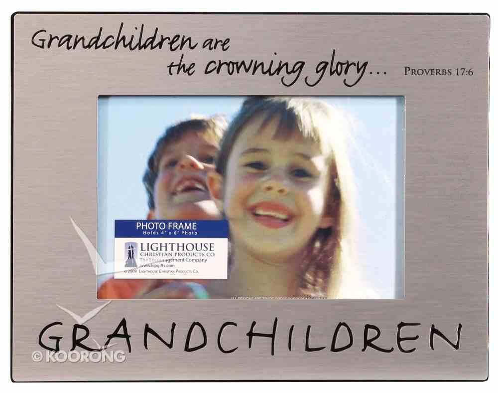 Pewter Photo Frame: Grandchildren Homeware