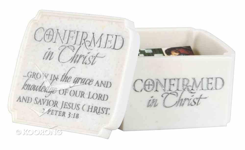 Keepsake Box: Confirmed in Christ (2 Peter 3:18) Homeware