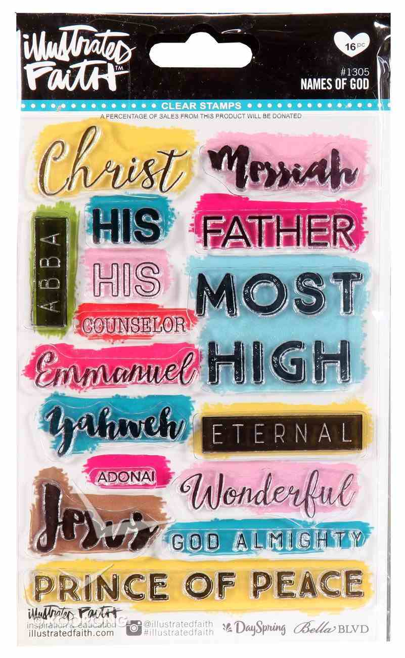 Clear Stamps - Names of God (Illustrated Faith Series) Stickers