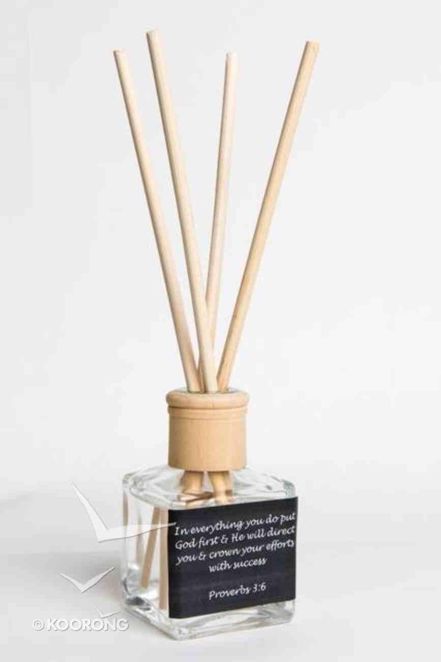 Luxurious Diffuser: Caramel & Vanilla, Proverbs 3:6 Homeware
