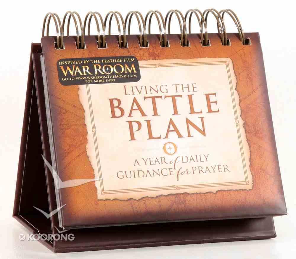 Living the Battle Plan Flip Calendar Calendar