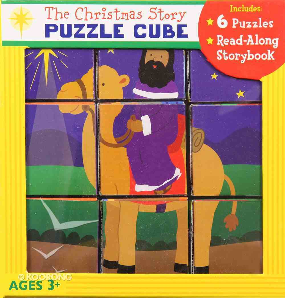 The Christmas Story Puzzle Cube Game