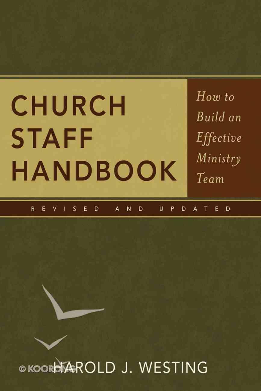 Church Staff Handbook Paperback