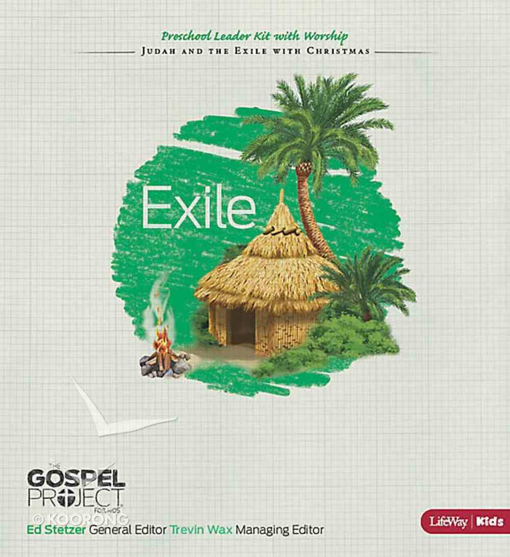 Exile (Preschool Leader Kit With Worship) (#06 in The Gospel Project For Kids 2012-15 Series) Pack