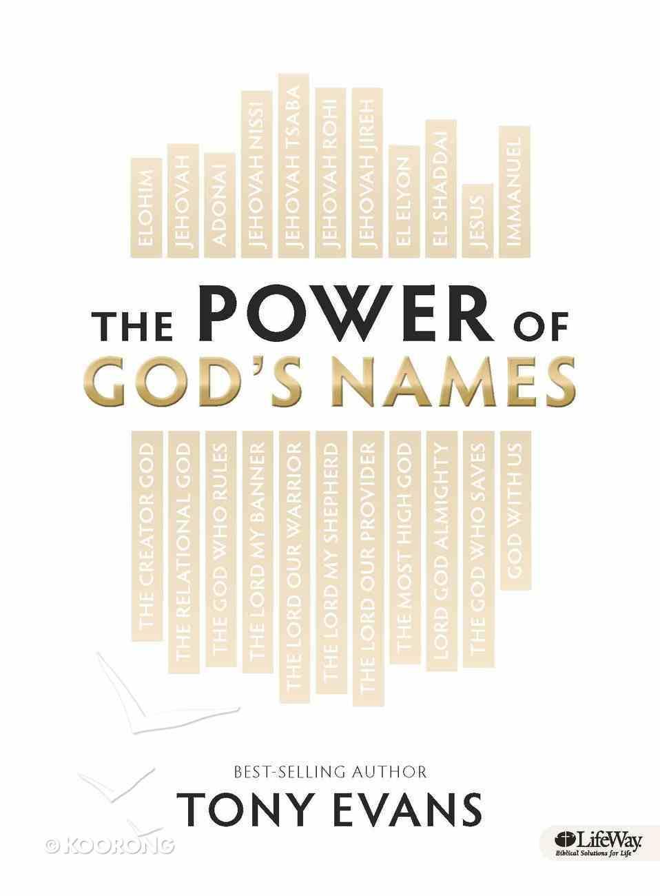 The Power of God's Names (Leader Kit) Pack