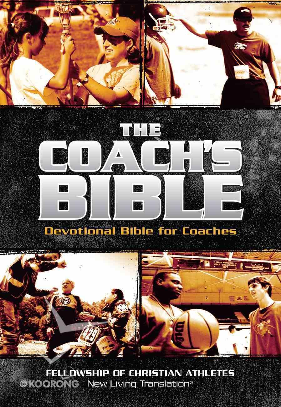 NLT Coach's Devotional Bible Imitation Leather
