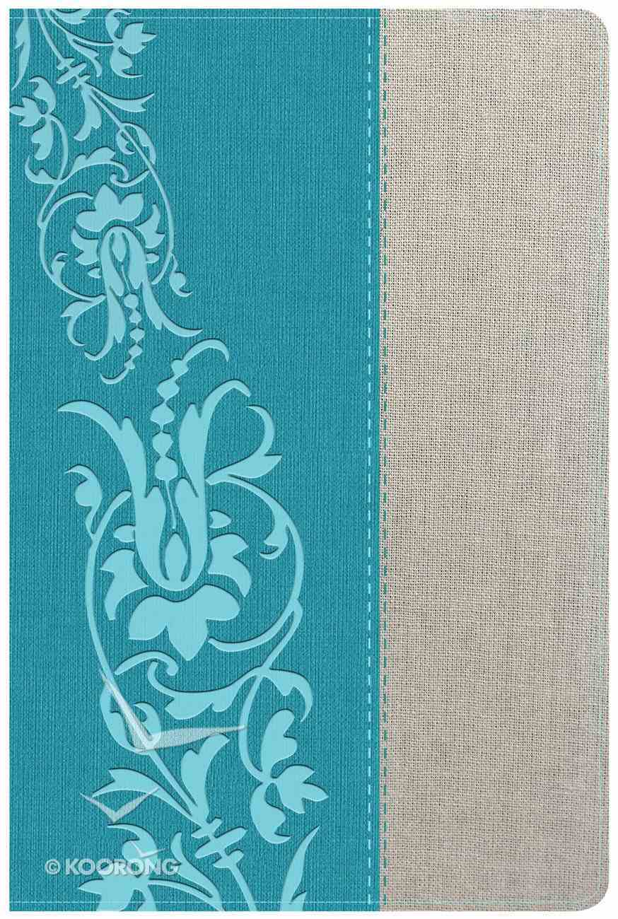 HCSB Holman Study Bible For Women HCSB Edition Teal/Gray Linen Imitation Leather
