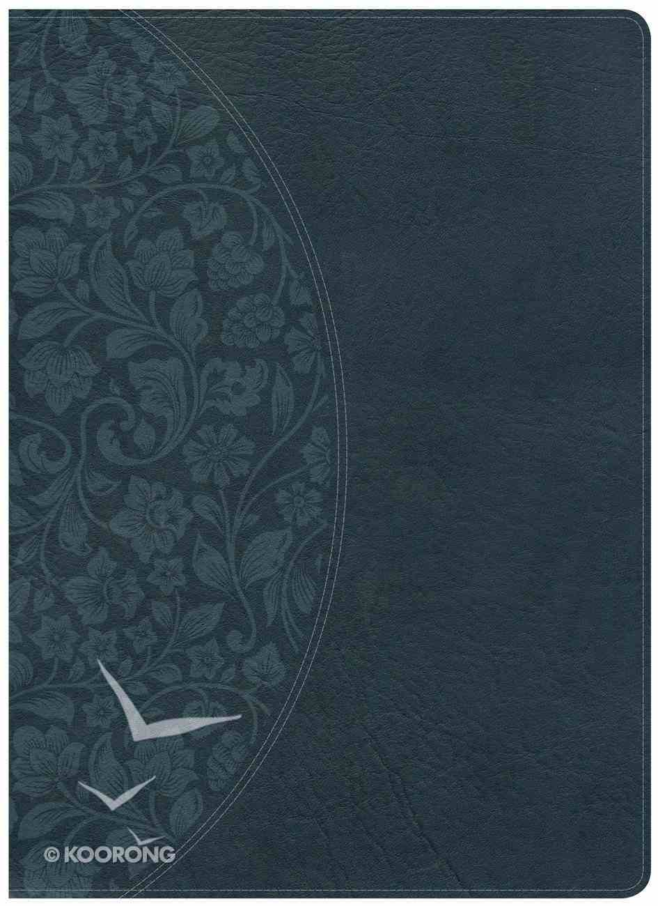 NKJV Large Print Holman Study Bible Dark Teal Imitation Leather