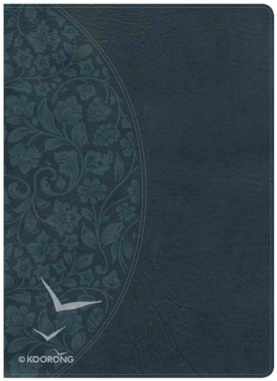 KJV Large Print Study Bible Dark Teal Imitation Leather