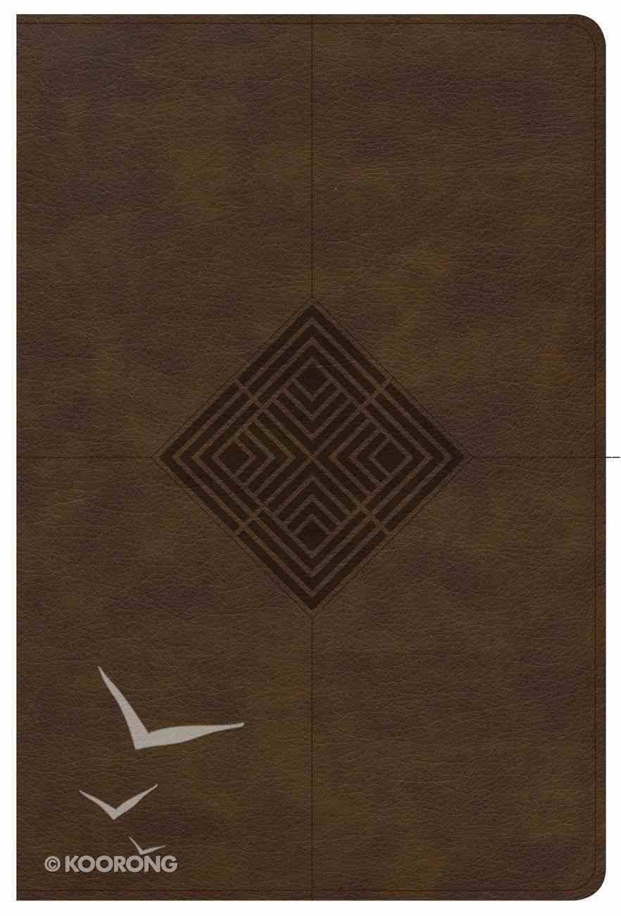 NKJV Reader's Reference Bible Brown Imitation Leather