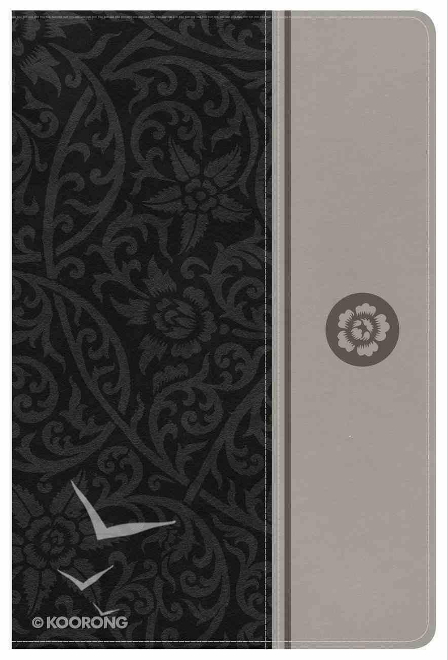 NKJV Reader's Reference Bible Gray Imitation Leather