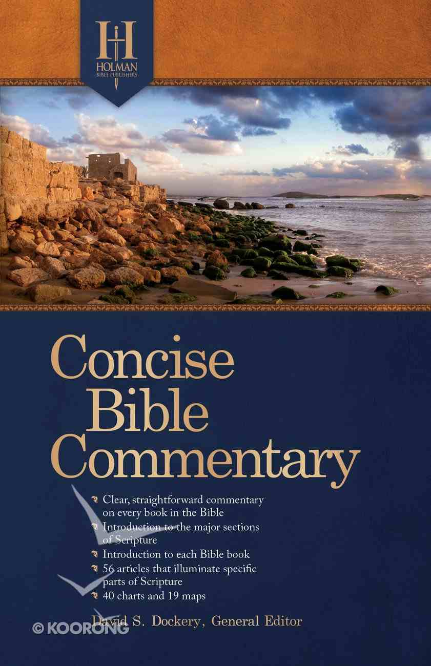 Holman Concise Bible Commentary Paperback