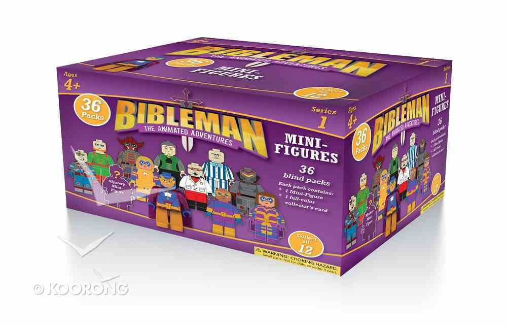 Bibleman Mini-Figures (Contains 1 Mini-figure & 1 Full-color Collector's Card) Soft Goods