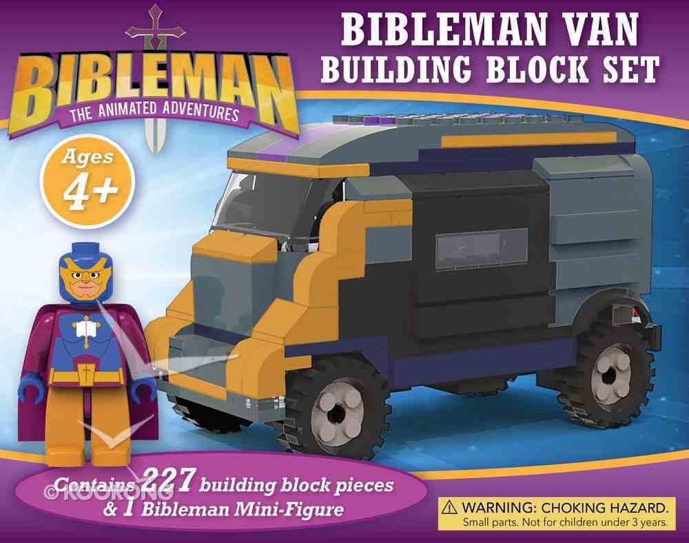 Bibleman Van Building Block Set Soft Goods