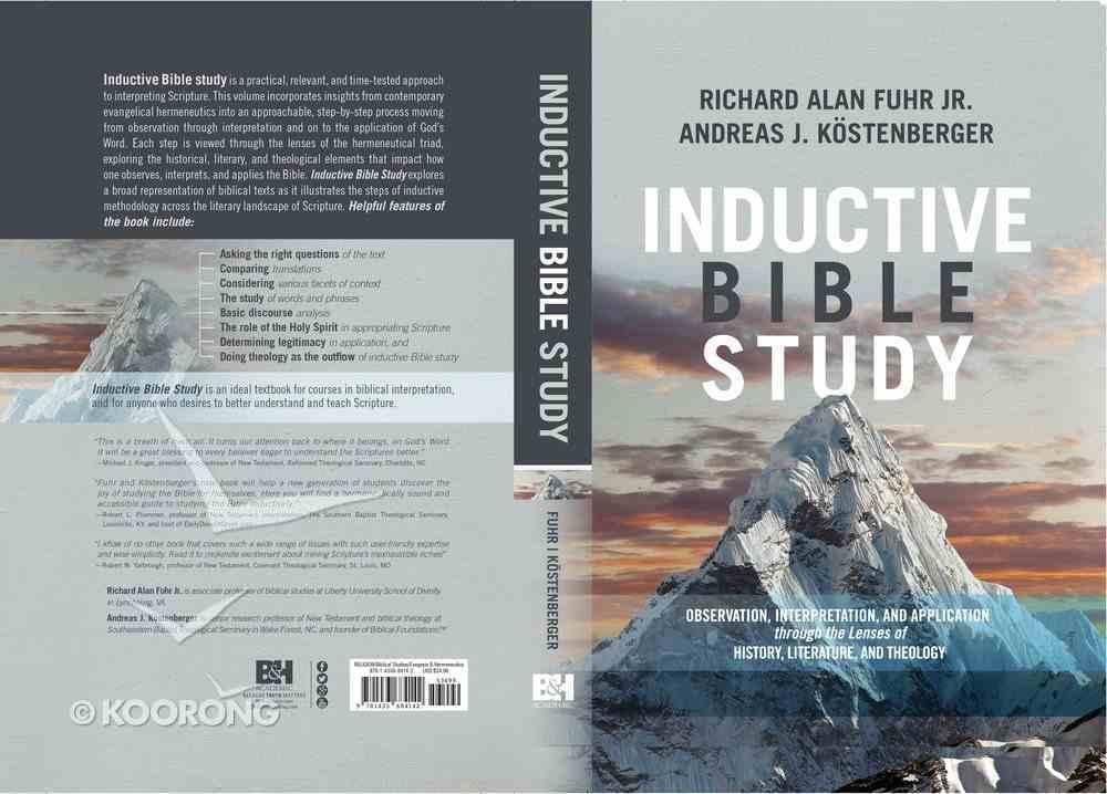 Inductive Bible Study Hardback