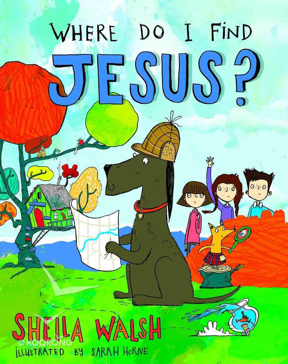 Where Do I Find Jesus? Hardback