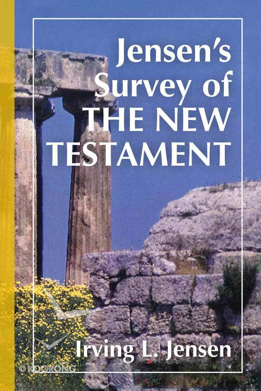 Jensen's Survey of the New Testament Hardback