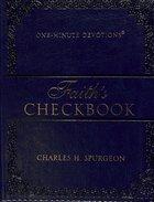 Faith's Checkbook (Navy) Imitation Leather