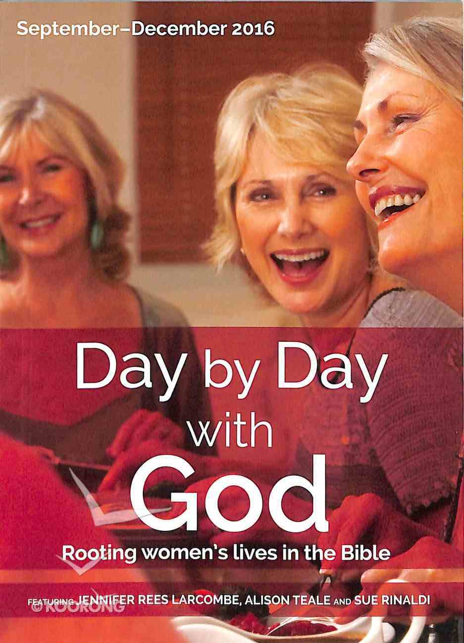 Day By Day With God 2016 #03: Sep-Dec Paperback