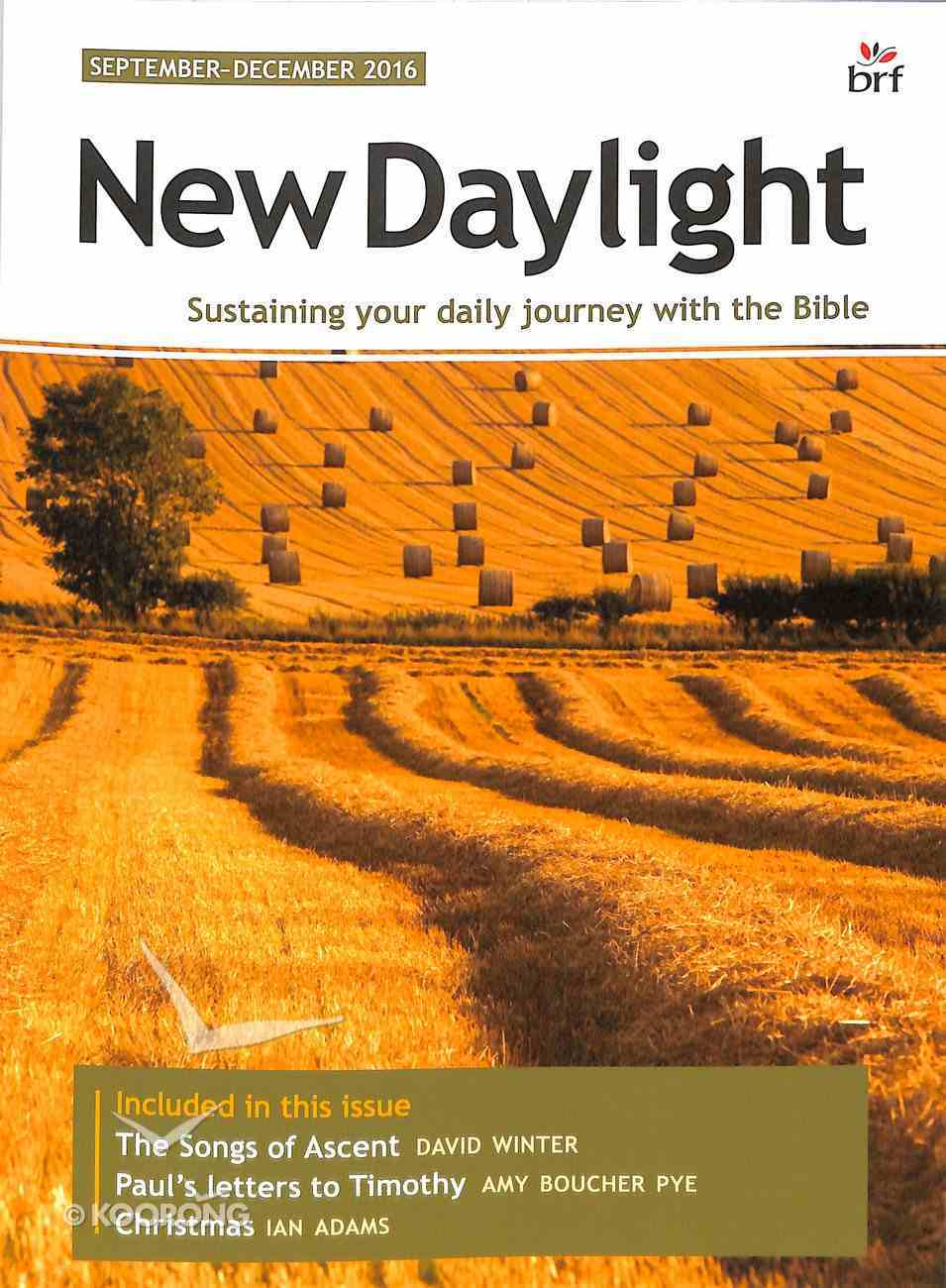 New Daylight Deluxe 2016 #03: Sep-Dec (Large Print) Paperback