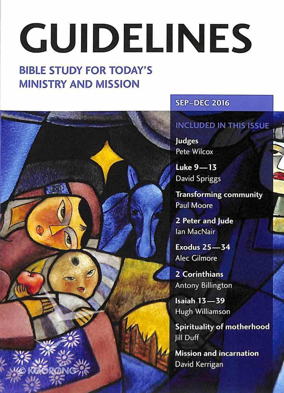 Guidelines 2016 #03: Sep-Dec Paperback