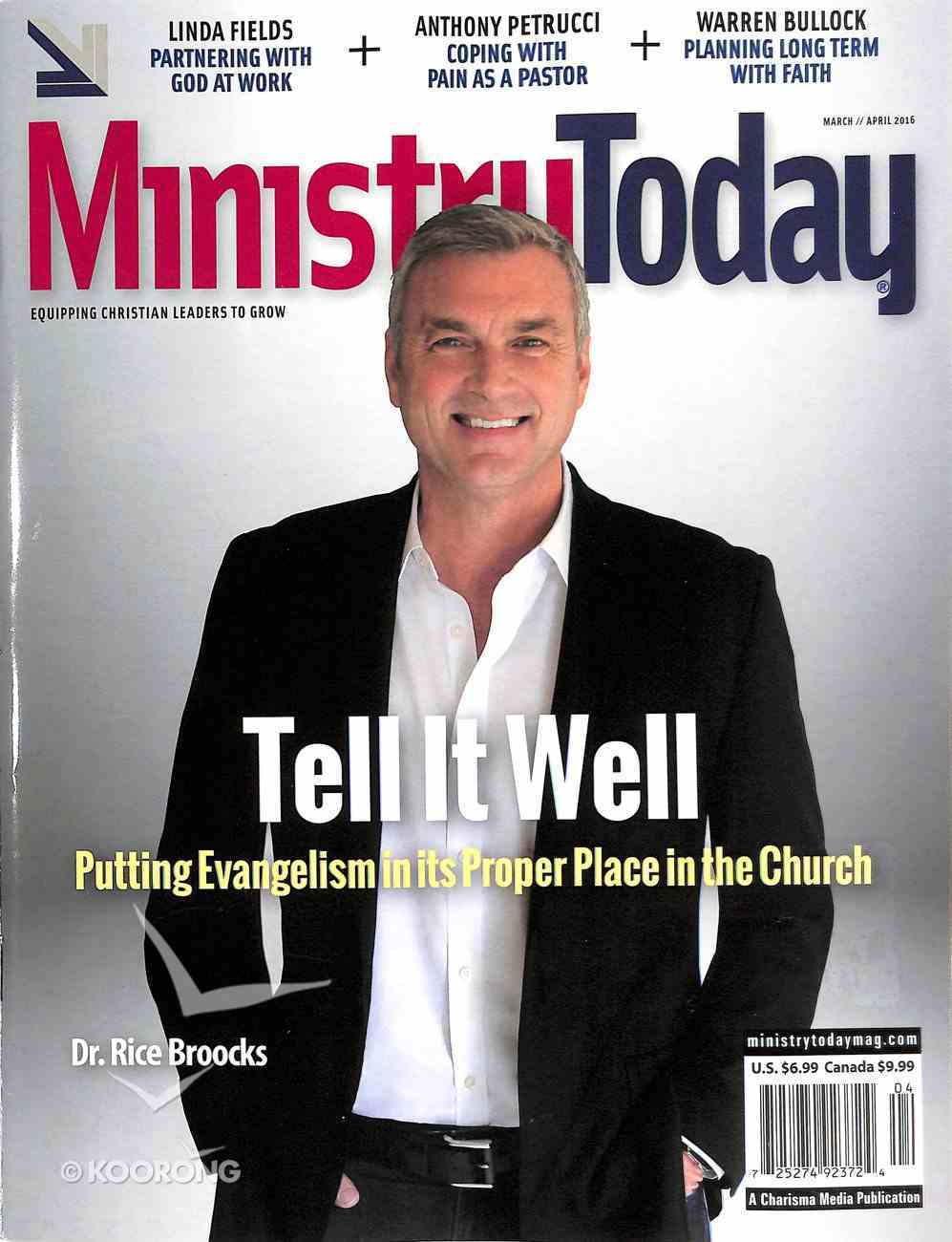 Ministry Today 2016 #02: Mar/Apr Magazine