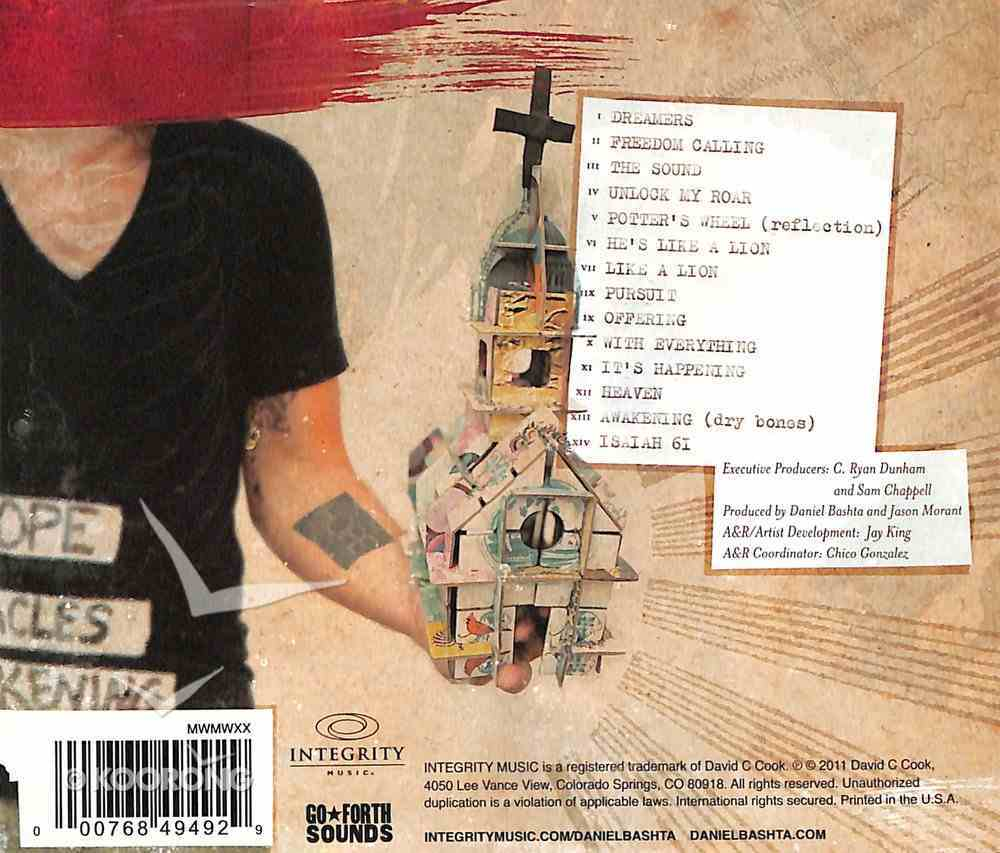 Sounds of Daniel Bashta CD