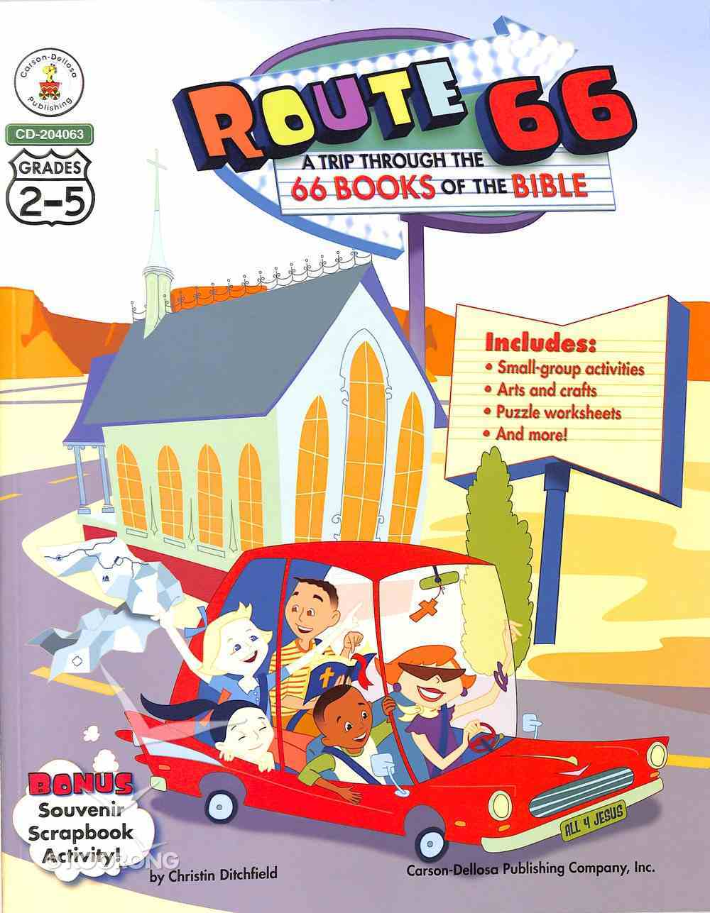 Route 66: A Trip Through the 66 Books of the Bible Booklet