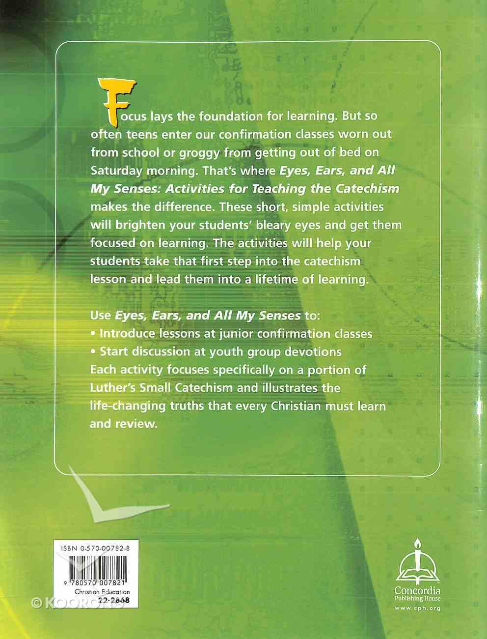 Eyes, Ears, and All My Senses Paperback