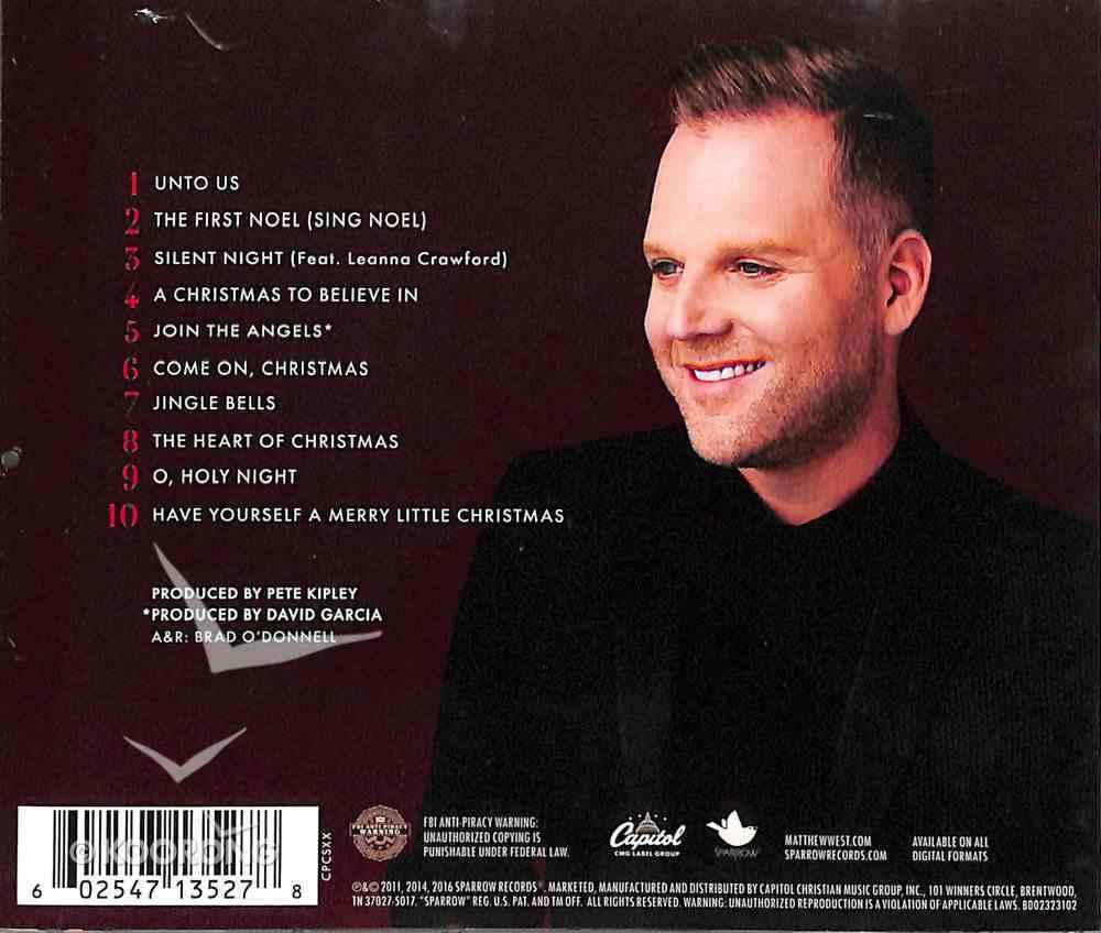 Unto Us: A Christmas Collection CD